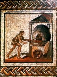 Four à pain - Mosaïque gallo-romaine
