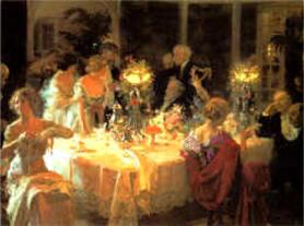 Fin de souper (1913) Jules-Alexandre Grün Musée des Beaux-Arts - Tourcoing