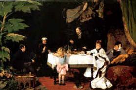 Déjeuner au conservatoire - Louise Abbeme ( 1858-1927) Musée des Beaux-arts, Pau