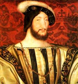 François I, 1494-1547 - Huile sur bois de Jaen Clouet, Musée du Louvres - Paris
