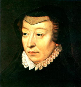 Catherine de Médicis - 1519-1589 - Peint par françois Clouet - Musée Condé, Chantilly