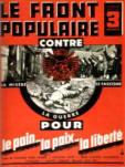 Brochure du Front populaire de 1936.