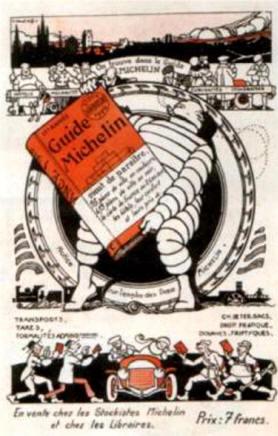 Publicité Michelin - 1920