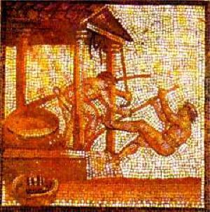 Pression de l'huile d'olive, en Gaule romaine - 300 av J.C