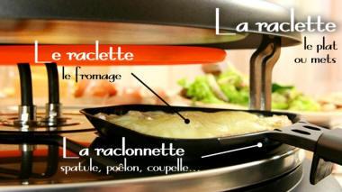 La raclette - Vrai appareil a raclette ...