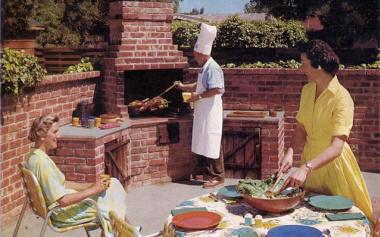 la cuisine de braise nous fait revenir aux sources de la cuisine dautrefois et retrouver les gots vrais simples des produits de nos terroirs - Barbecue En Brique Fait Maison